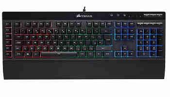 teclado star citizen mecanico gaming corsair k55