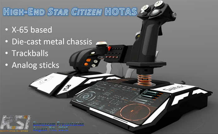 periferico hotas star citizen